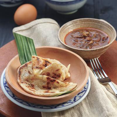 menu marco padang Roti Cane Kari Kambing