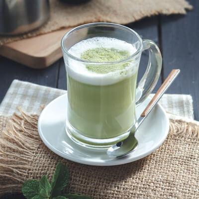 menu marco padang Green Tea Latte