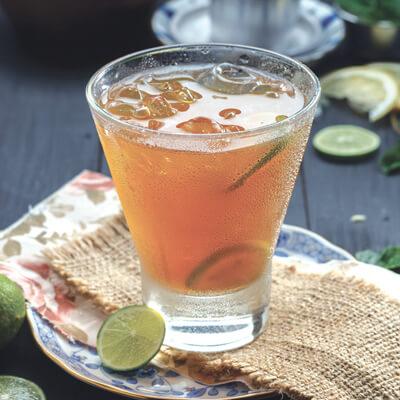 menu marco padang Es Teh Lemon
