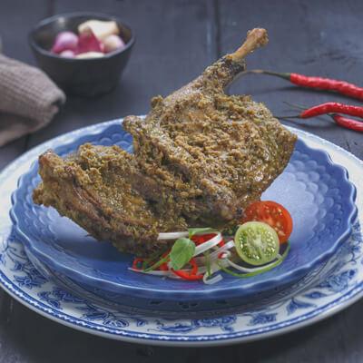 menu marco padang Bebek Muda Lado Ijo Koto Gadang